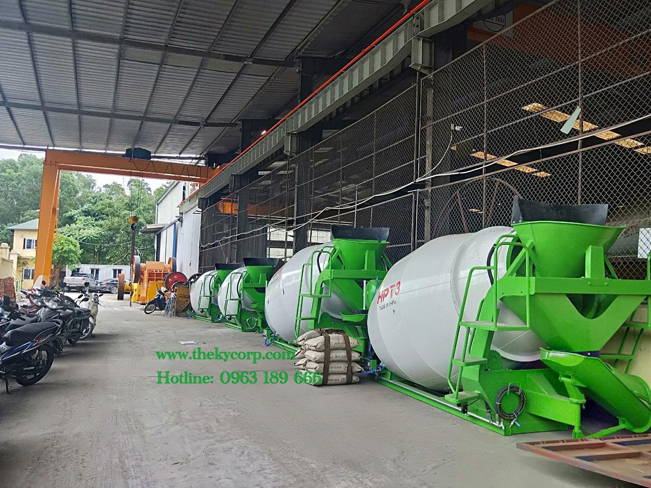Bồn trộn bê tông 5m3 (khối)